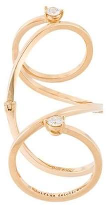 Delfina Delettrez 'Handroid' diamond ring