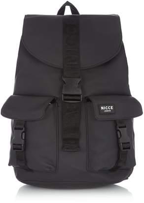 Nicce Rubber Matte Drawstring Backpack
