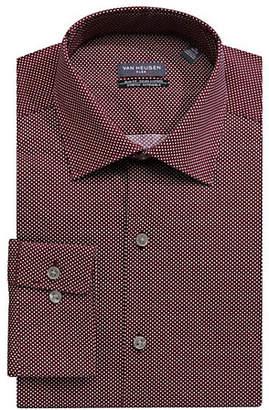 Van Heusen Printed Long Sleeve Dress Shirt