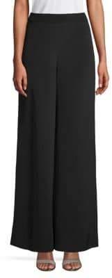 Carolina Herrera Wide-Leg Silk Pants