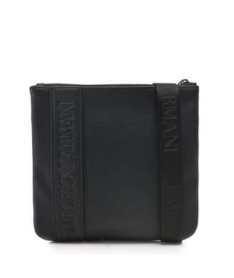 Emporio Armani Men's Small Logo Messenger Bag