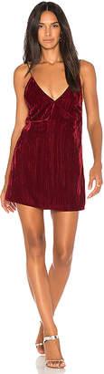 Nightcap Clothing Velvet Slip Dress