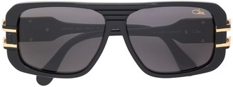 Cazal oversized aviator sunglasses