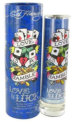 Christian Audigier Love & Luck by Eau De Toilette Spray for Men - 100% Authentic