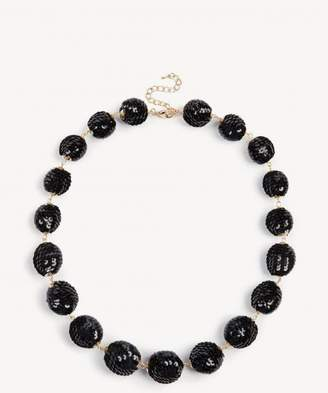 Sole Society Sequin Drop Necklace