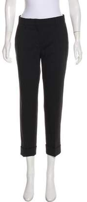 Prada Wool Mid-Rise Pants