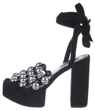 Alexander Wang Studded Platform Sandals