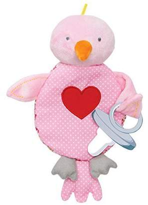 Elegant Baby Pacifier or Binky Holder, Lovebird by