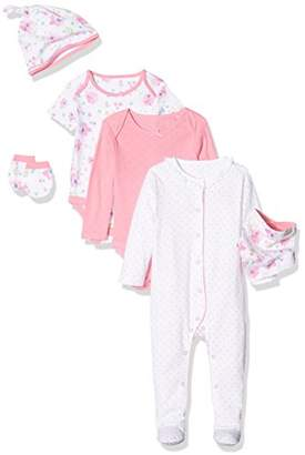 Mothercare Baby Girls' Six Piece Clothing Set,(Manufacturer Size: 68 cms)