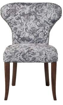 George Oliver Adcock Wing Back Upholstered Dining Chair George Oliver