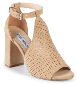 Steve Madden Reese Suede Cutout Sandals