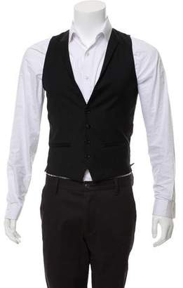 The Kooples Wool Tuxedo Vest