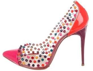 5c4de321ffd1 clear cap toe pumps shopstyle rh ...