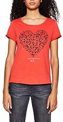 Esprit edc by Women's 018cc1k021 Long Sleeve Top