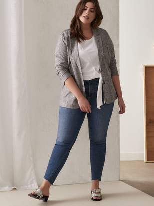 High Waist Skinny Jean - Silver Jeans
