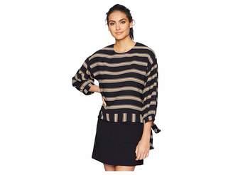 J.o.a. Stripe Top Women's Clothing