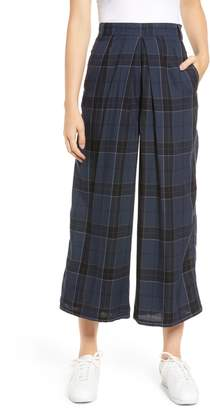 Obey Silverlake Wide Leg Crop Pants