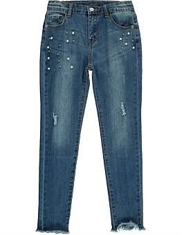 (&US) Adjustable Stretchy Bling Jeans
