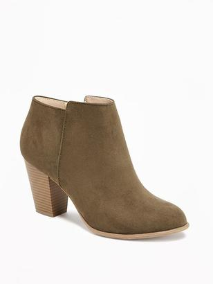 Sueded Ankle Boot for Women $44.94 thestylecure.com