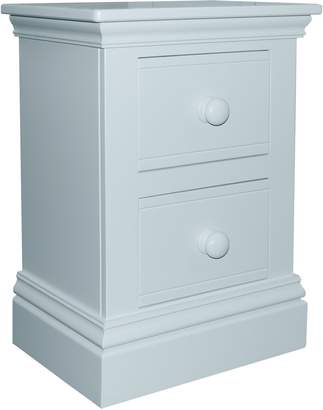House of Fraser Adorable Tots New Hampton 2 Drawer Bedside Table