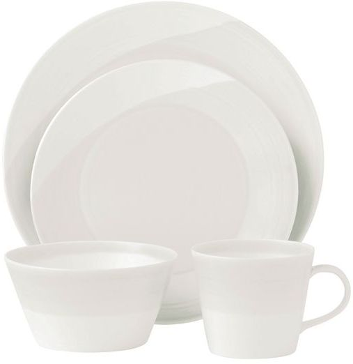 Royal doulton 1815 white dinnerware collection