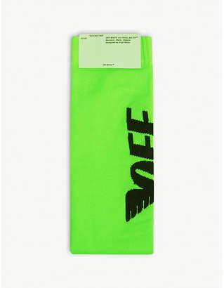 Off-White Wings logo nylon socks