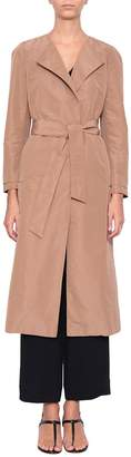 New York Industrie NEWYORKINDUSTRIE Belted Trench Coat
