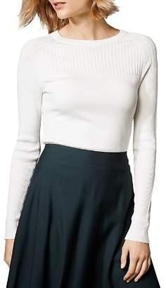 Karen Millen Ribbed Detail Sweater