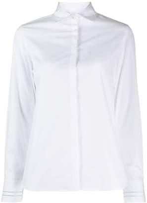 Barba crystal embellished shirt