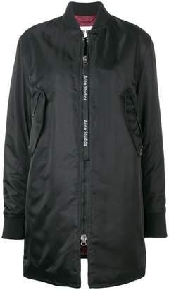 Acne Studios long bomber coat