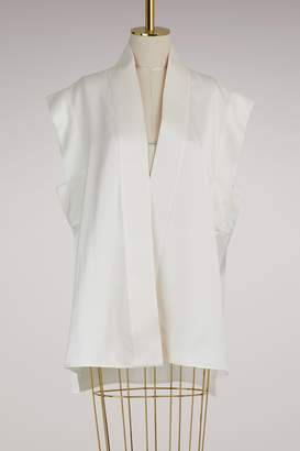 Haider Ackermann Silk Kimono Top