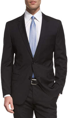 BOSS Huge Genius Slim-Fit Basic Suit, Black
