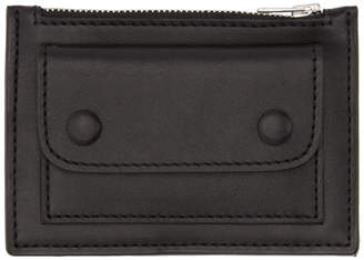 Ami Alexandre Mattiussi Black Zip Card Holder
