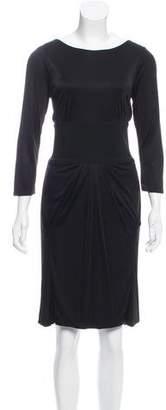Alessandro Dell'Acqua Knee-Length Long Sleeve Dress w/ Tags