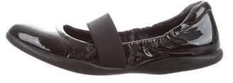 Prada Sport Patent Leather Mary Jane Flats
