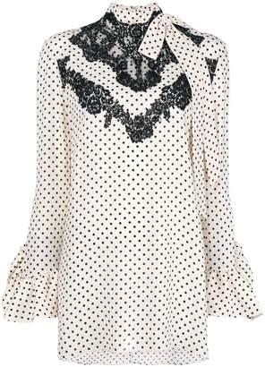 Valentino polka dot blouse