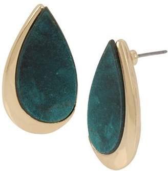 Robert Lee Morris Soho Teardrop Stud Earrings