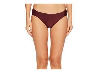 Kate Spade Isla Vista #74 Side Shirred Bikini Bottom Women's Swimwear