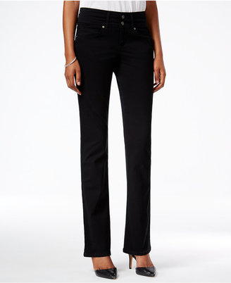 Style & Co. Deep Black Wash Bootcut Jeans, Only at Macy's $54.50 thestylecure.com