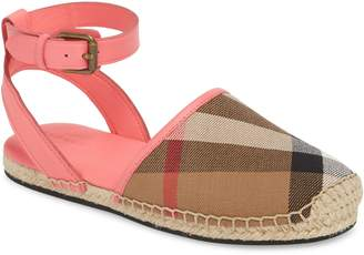 Burberry New Perth Espadrille Sandal