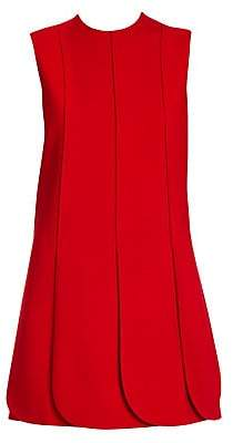 Valentino Women's Sleeveless Scallop Hem Dress