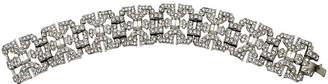 One Kings Lane Vintage Art Deco Diamanté Bracelet
