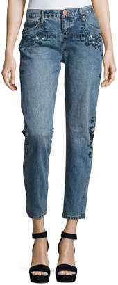 One Teaspoon Lola Awesome Baggies Jeans, Light Blue $129 thestylecure.com