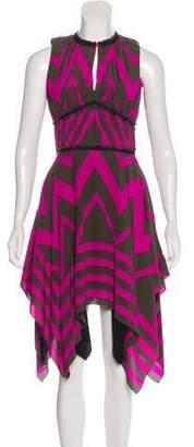 Louis Vuitton Silk Midi Dress