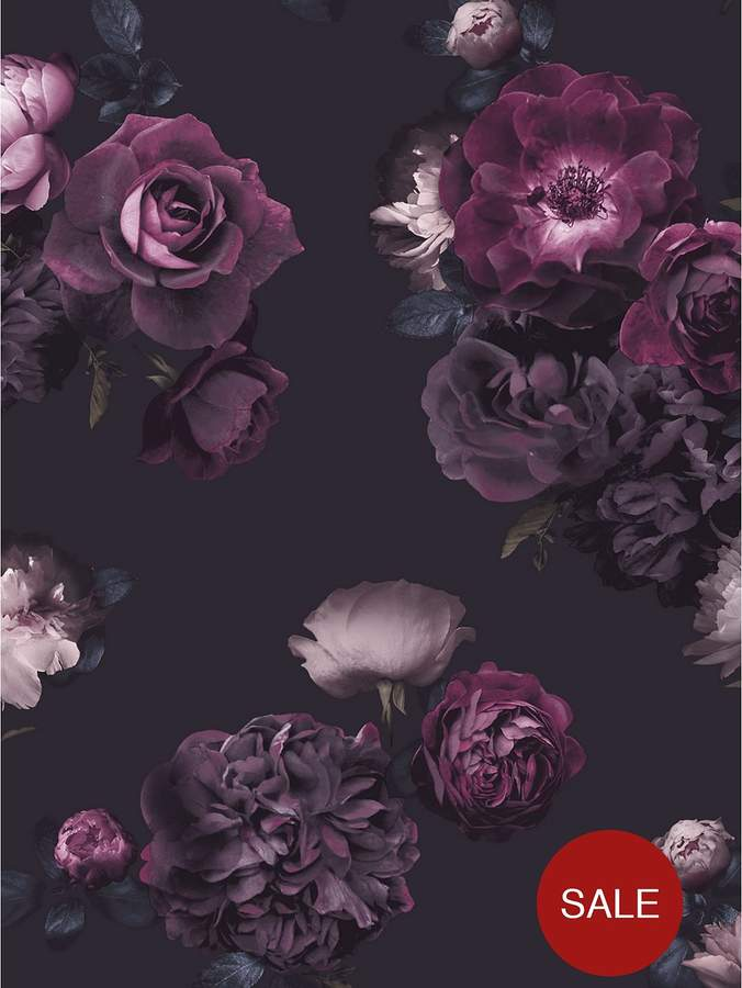 ARTHOUSE Euphoria Floral Plum Wallpaper