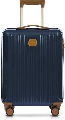 Bric's Capri Night Blue Polycarbonate Hard Case Cabin Trolley