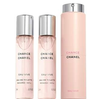 Chanel Chance Eau Vive, Eau De Toilette Twist And Spray