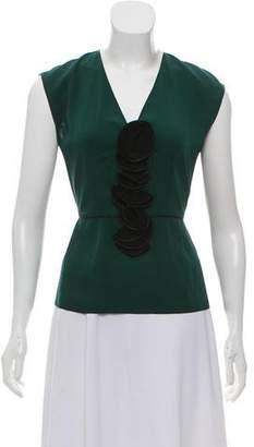Marc Jacobs Sleeveless Plunge Top