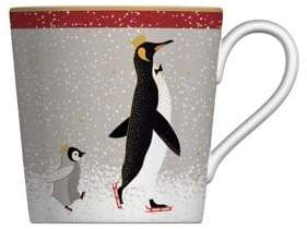 Portmeirion 22K Gold and Porcelain Penguin Coffee Mug