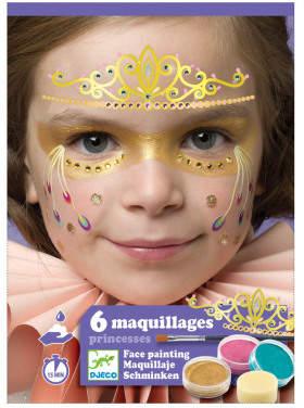 Djeco Princess Face Paint Set